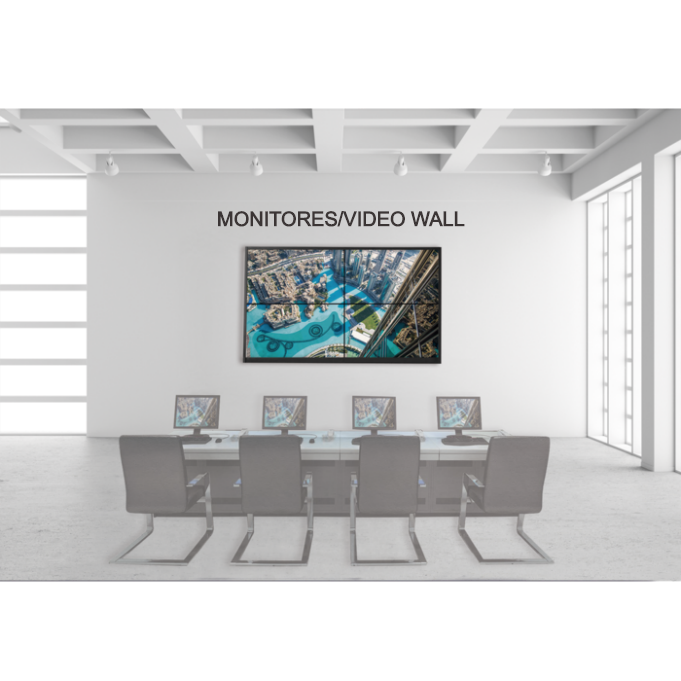 MONITORES/VÍDEO WALL